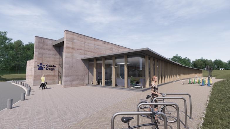 Redbridge centre entrance computer generated image