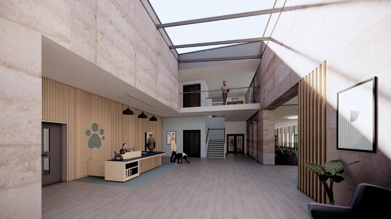 Redbridge new reception design