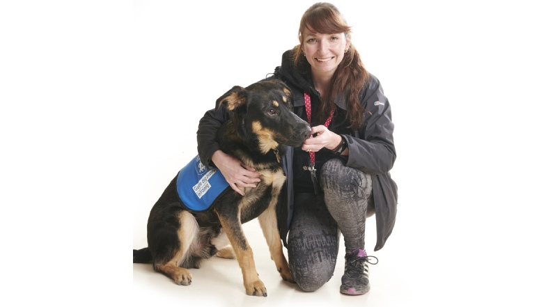 Puppy Walker Louise with Guide Dog puppy Woody