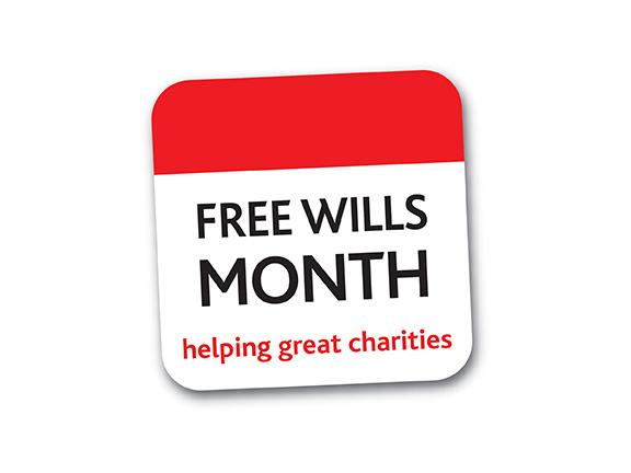 Free Wills Month logo