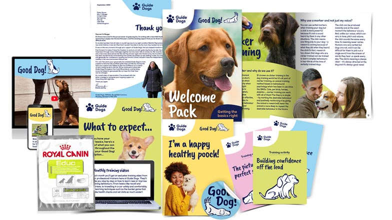Good Dog subscriber pack shot and what is included