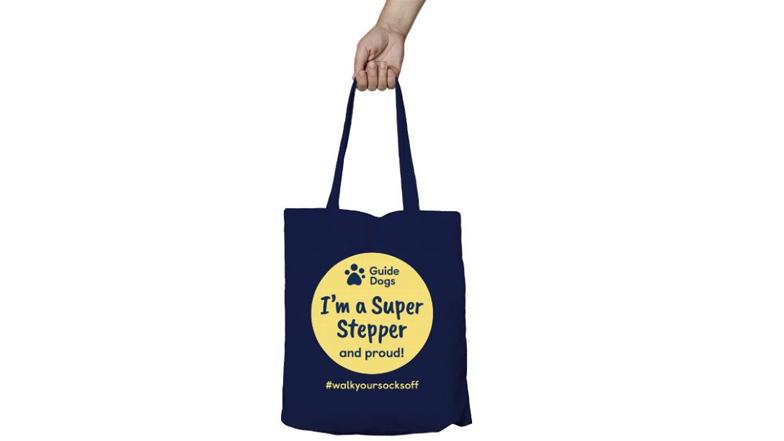 Walk Your Socks Off Super Stepper tote bag