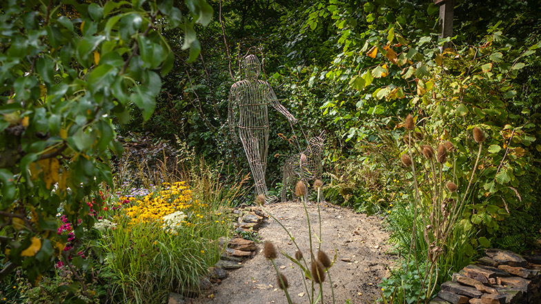 Guide Dogs' garden at the Chelsea Flower Show